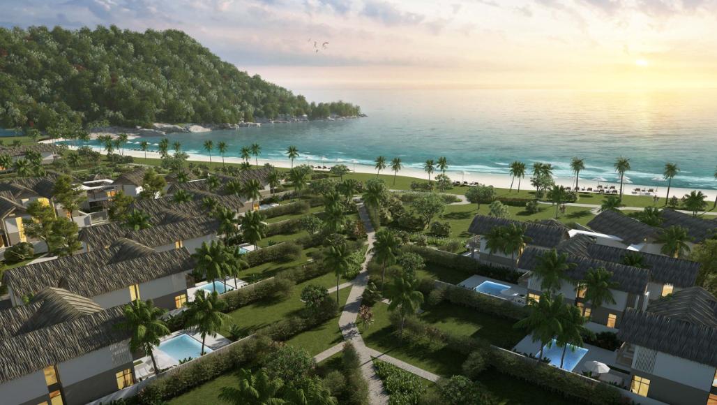 Khung cảnh nên thơ của Sun Premier Village Kem Beach Resort