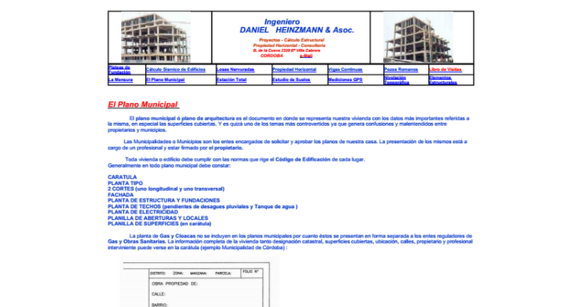 Plano Municipal Pdf Google Docs