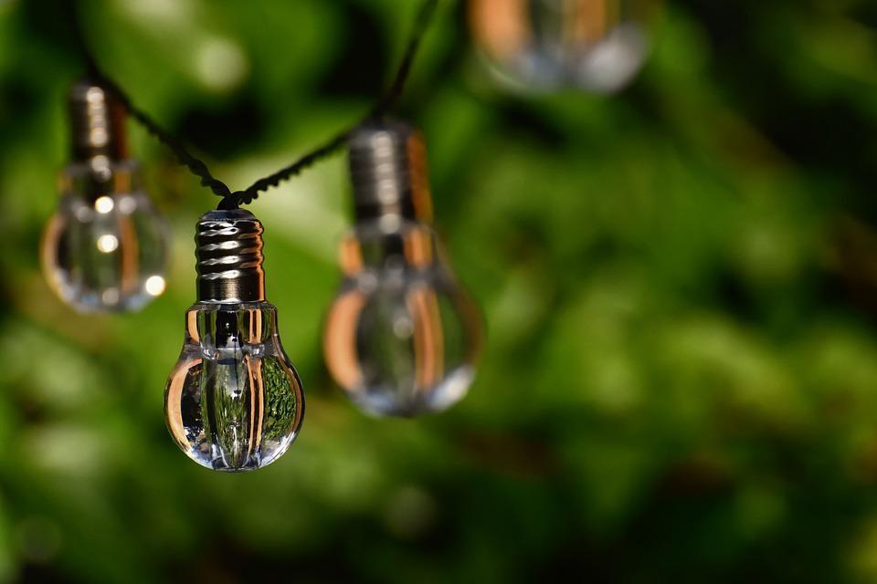 Light Bulb, Colorful, Lamps, Light, Energy, Nature
