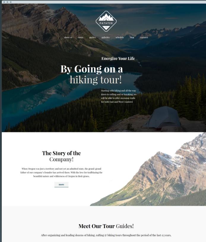 Pathter WordPress Theme