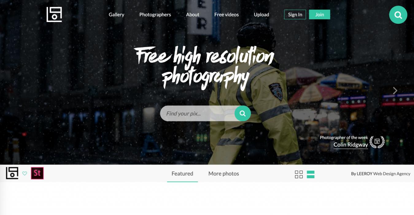 Bancos de imagem grátis: Life Of Pix