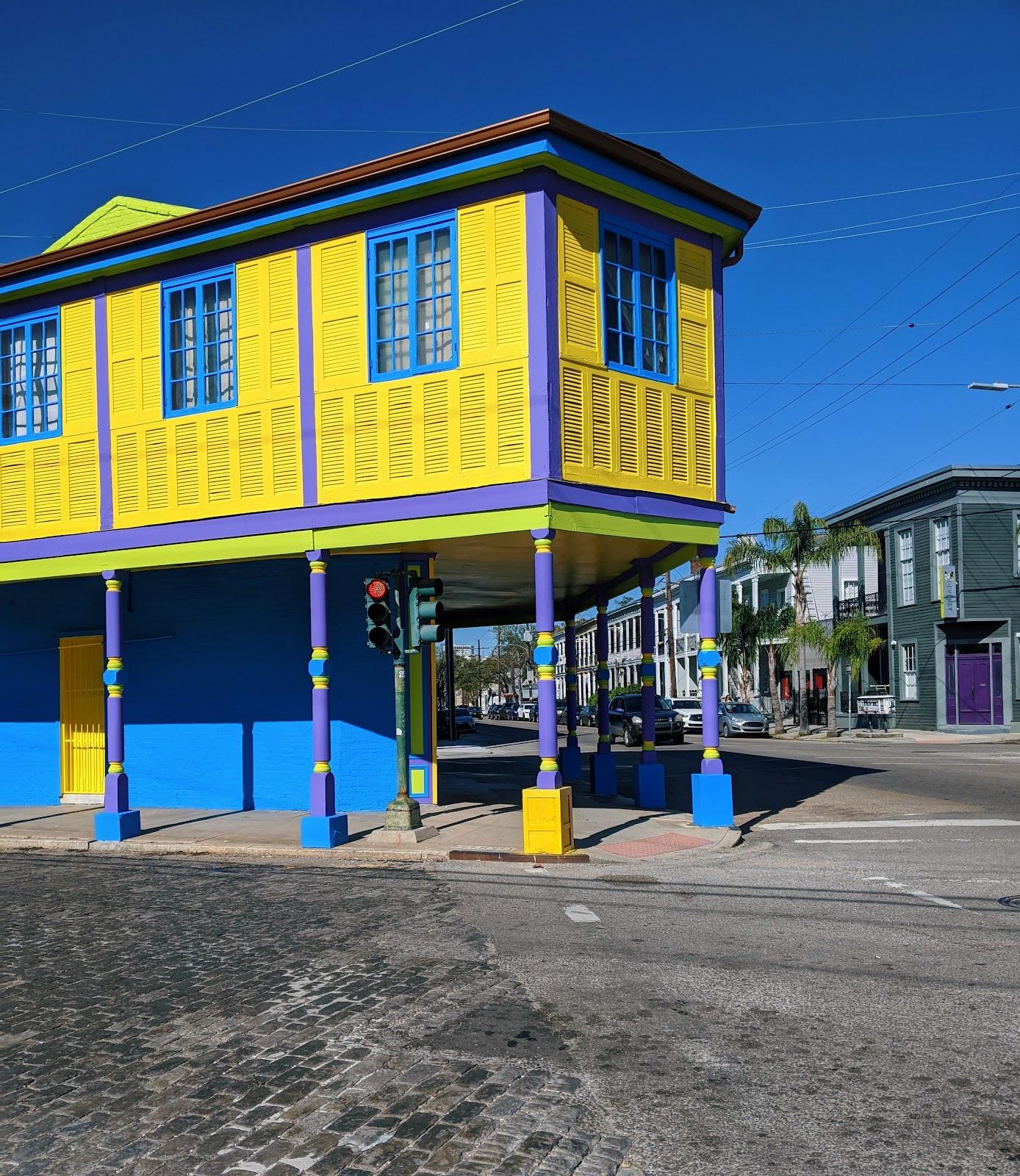 בתים צבעוניים המקומות הכי יפים בניו אורלינס