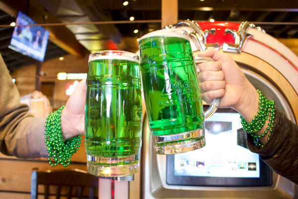 Logan's Roadhouse St. Patrick's Day Green Beer
