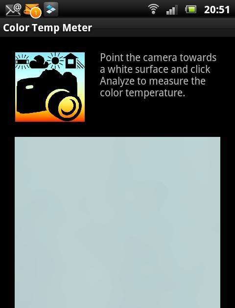 Update of White Balance Color Temp Meter apk Free | Apk Download