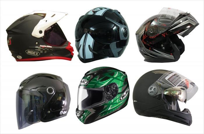 Nón fullface giúp bảo vệ an toàn hơn cho phần đầu