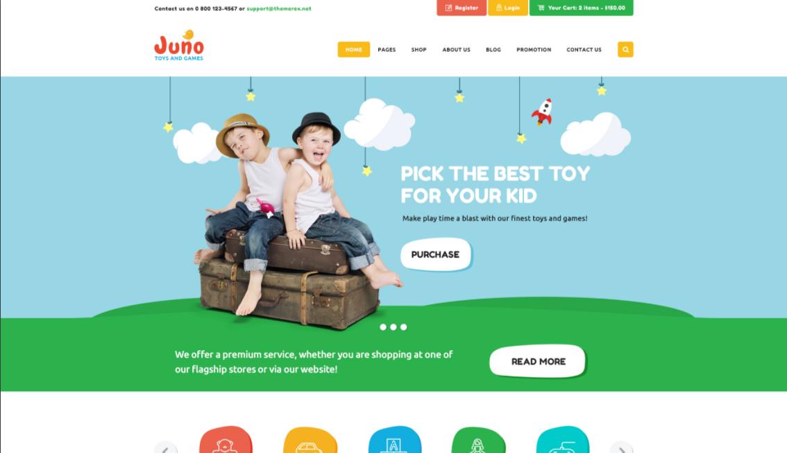 awesome WordPress ecommerce theme
