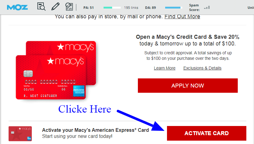 Macy S Credit Card Activation 2 Simple Way