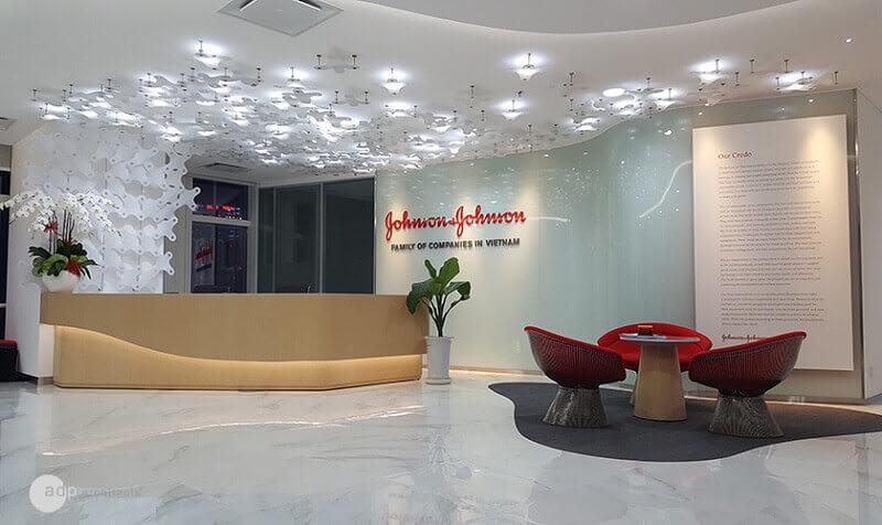 Johnson & Johnson là dự án thiết kế nội thất văn phòng đầu tiên nhận được chứng chỉ Leed