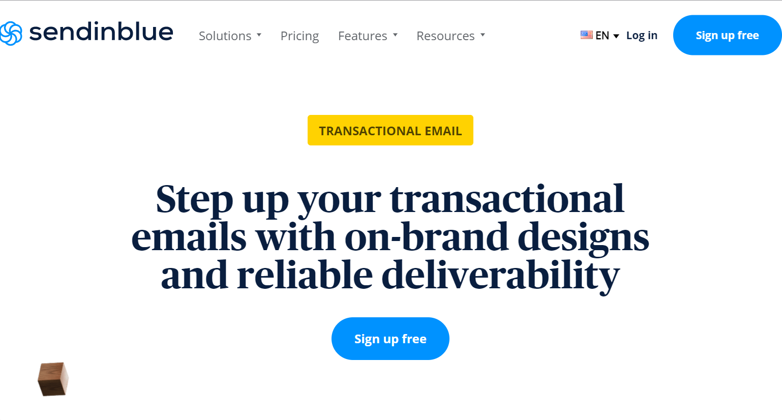 sendinblue, transactional email service for wordpress
