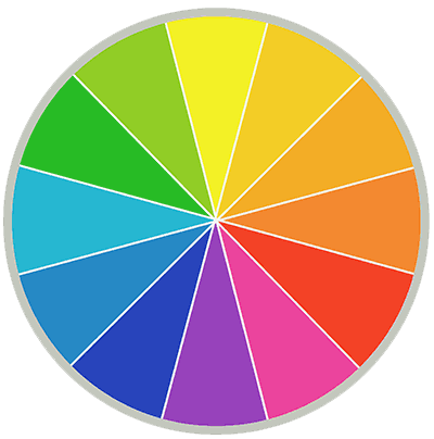 Colour theory wheel
