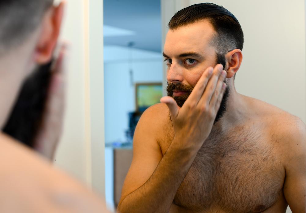 How To Straighten Your Beard - Beard Oil