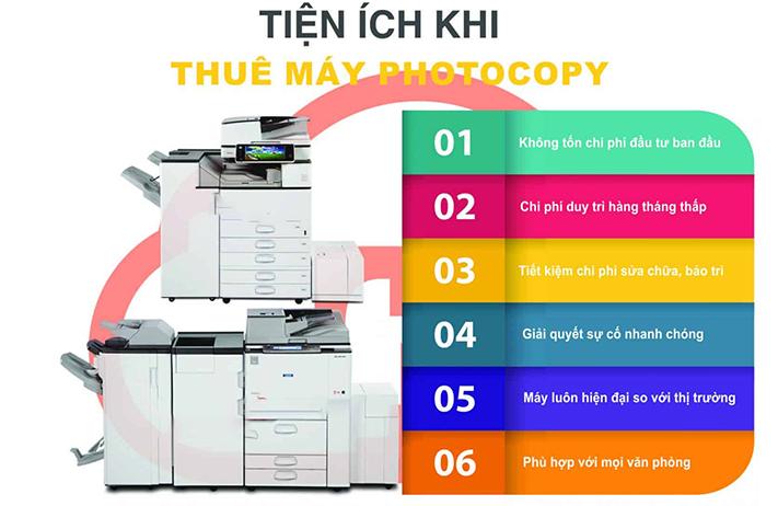 Cần lựa chọn đơn vị uy tín chuyên nghiệp khi thuê máy photocopy