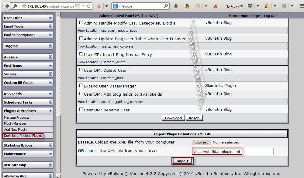 Full Lab vBullentin Authenticate with LDAP Server