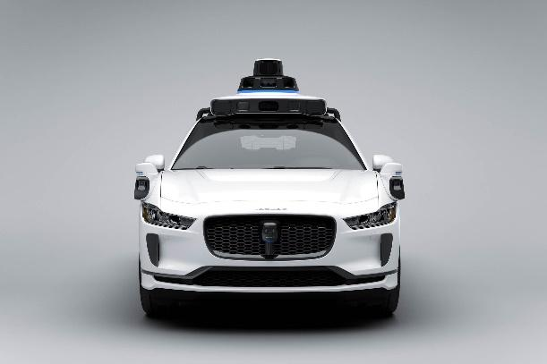 A lidar system on top of a modern car