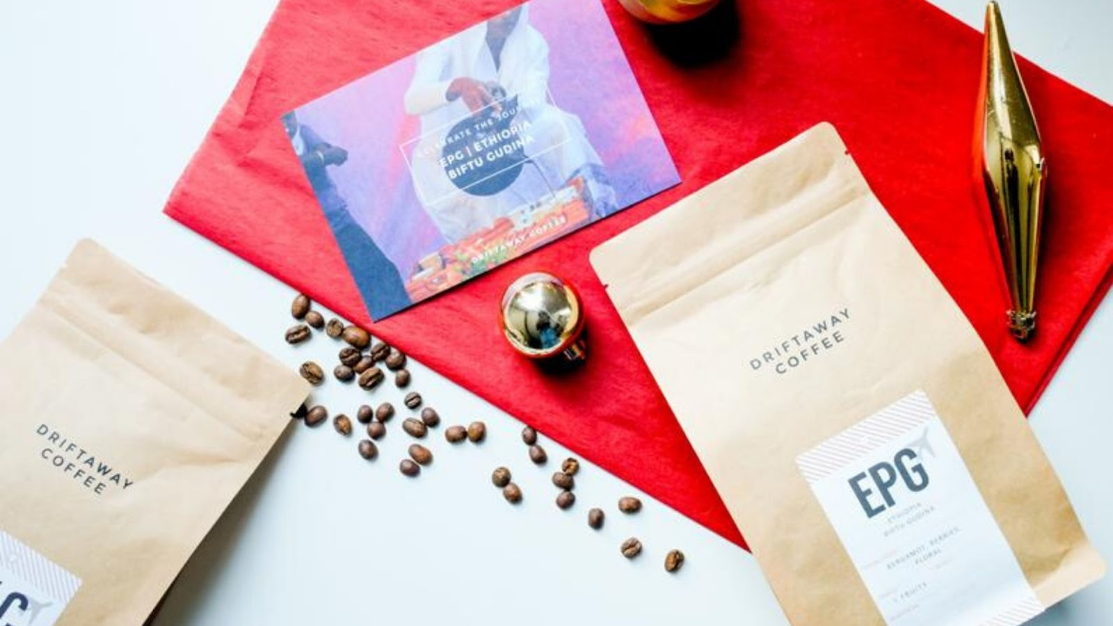 Eco friendly gifts - world coffee sampler