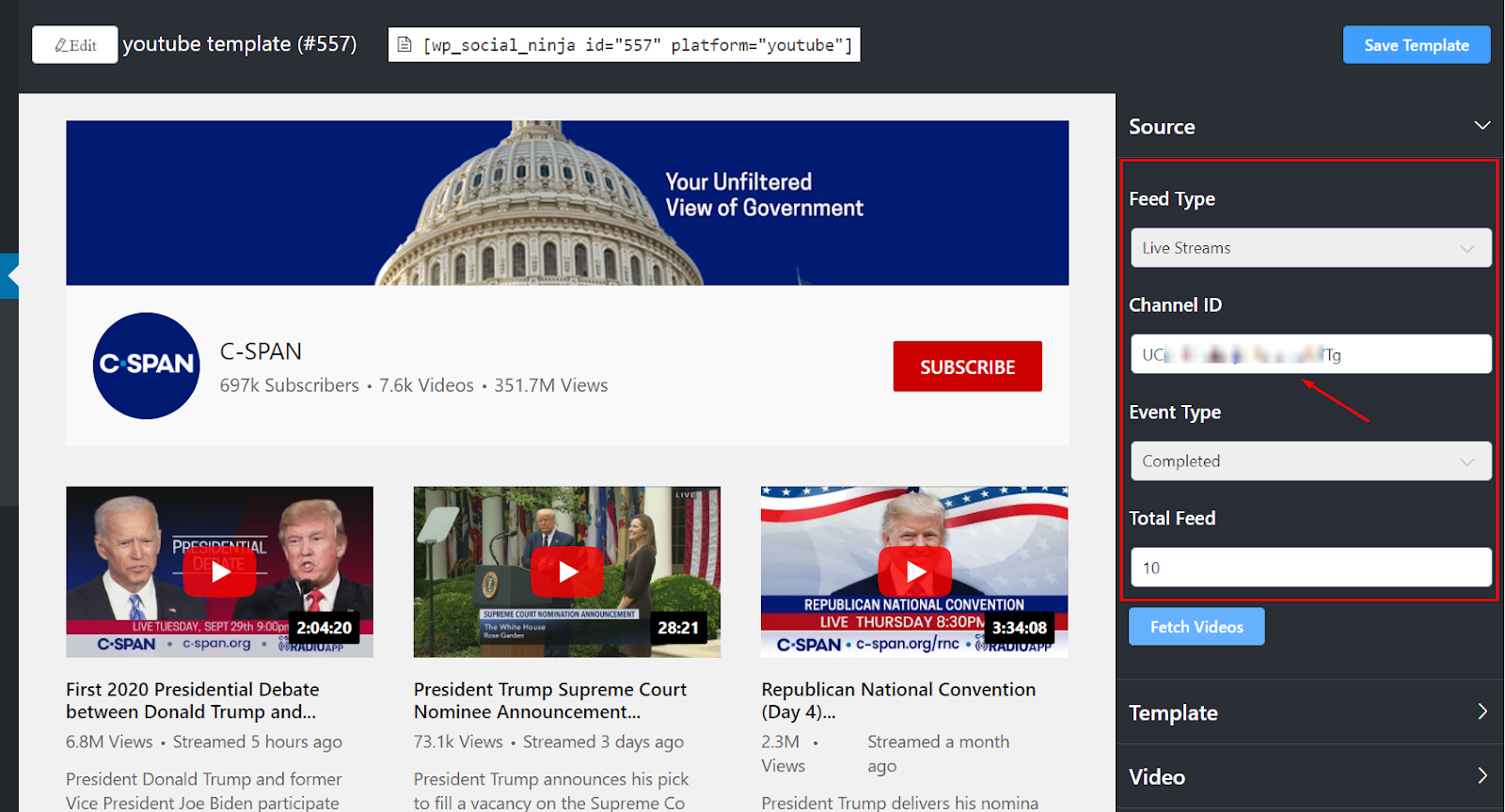youtube live streams
