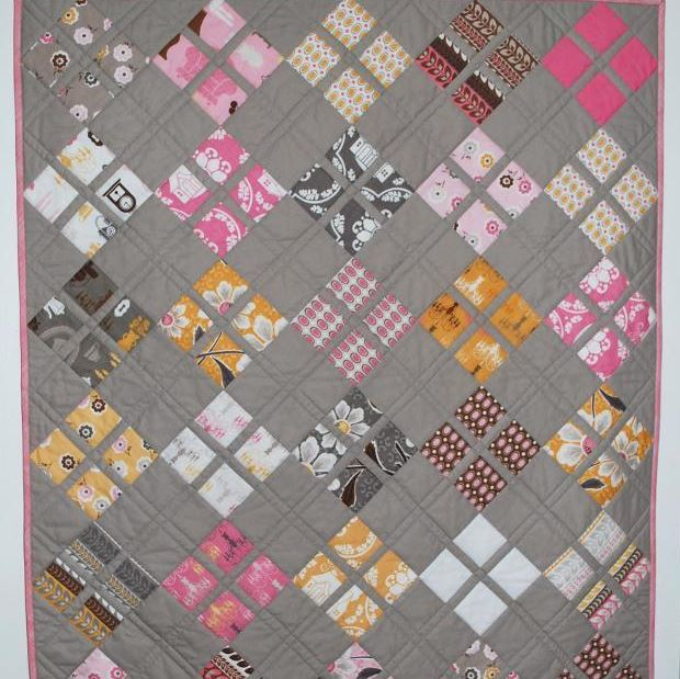 Charm Pack Baby Quilt - Free on Craftsy