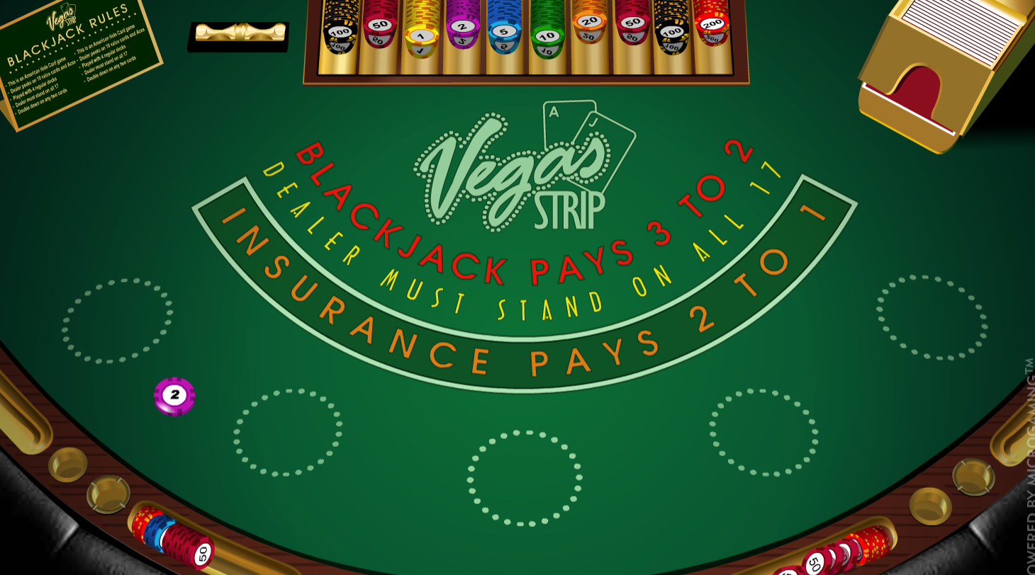 Vegas Strip Blackjack is one of the great blackjack games you can play at Casoola Casino