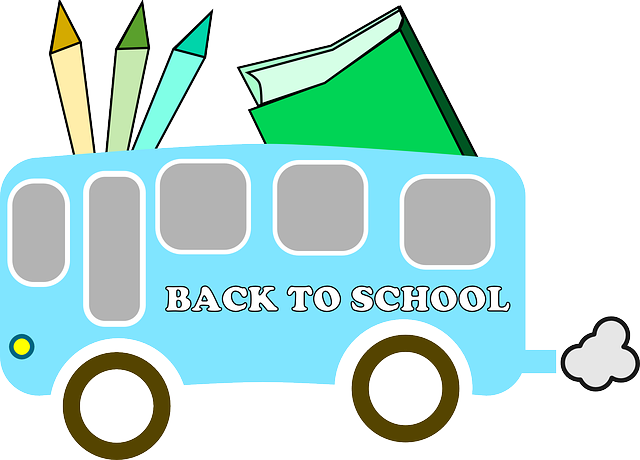 Back To School, Bus, Back,