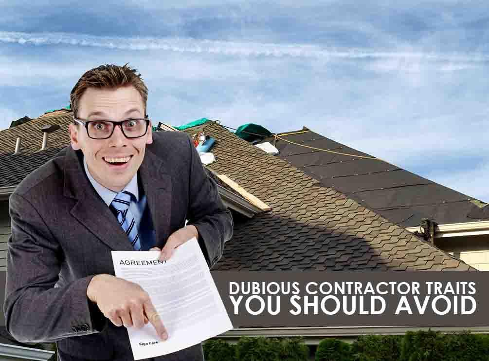 Dubious Contractor Traits You Should Avoid Buford