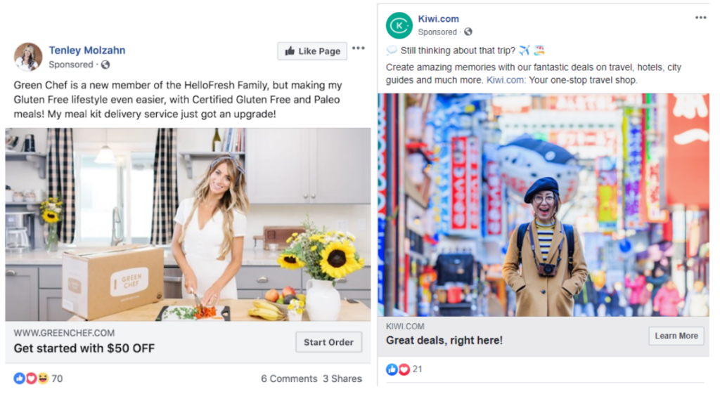 Best facebook ads