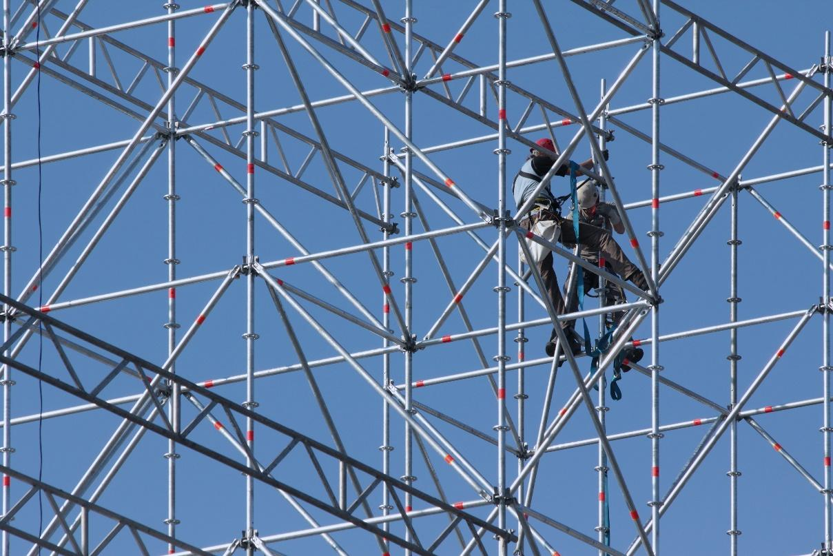 Four Steps to Ensure Safety During Scaffolding Erection