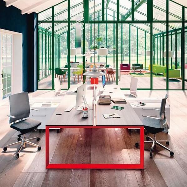 thiết kế văn phòng làm việc có không gian mở
