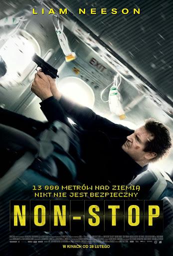 Polski plakat filmu 'Non-Stop'