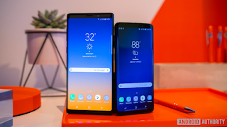Samsung Galaxy S9 Samsung Galaxy Note 9