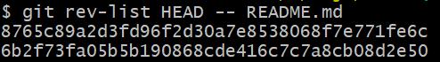 alt: REV-LIST operation - GitHub