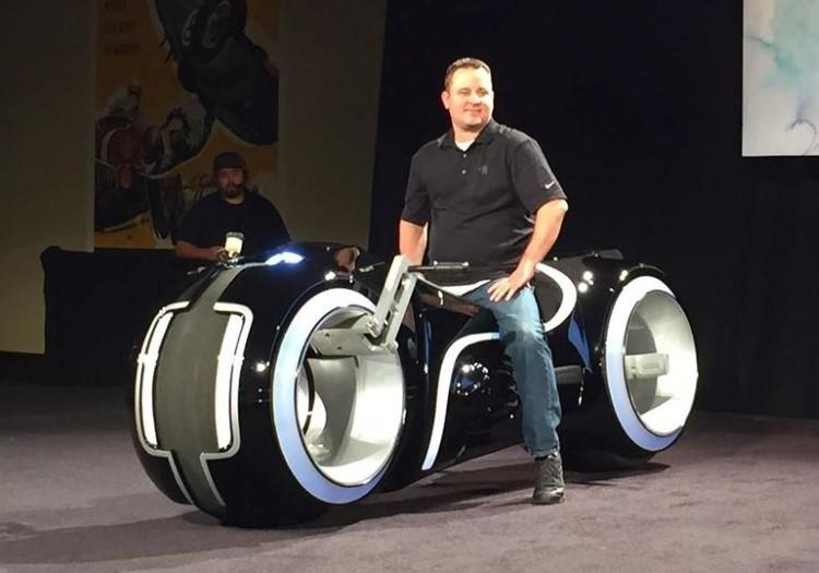 Real life Tron bike sold for $77,000