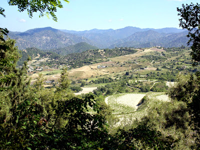 Valley in the Hills in Cyprus