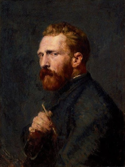 portrait of vincent van gogh, john peter russell