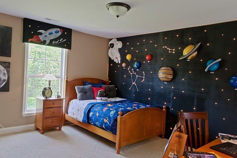Transform His Room Into a Galaxy Boys Bedroom Painting Ideas