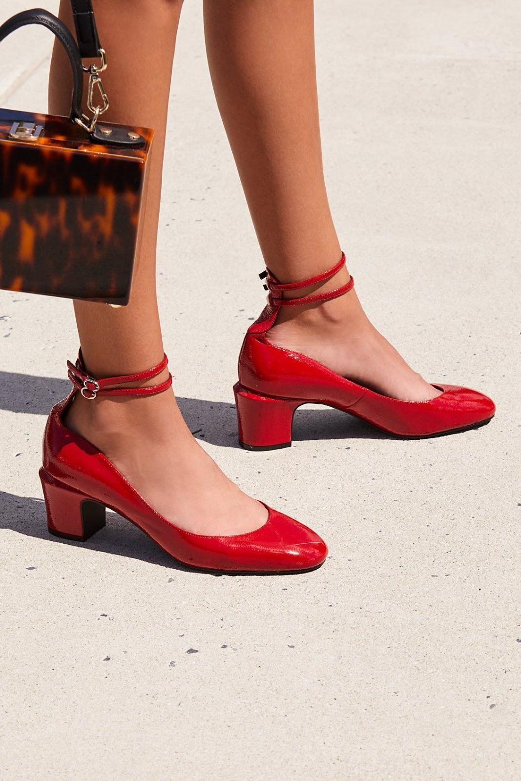 Lana Red Block Heel from The Children's Hour, Mother's Day gift guide