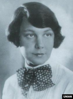 Українська поетеса, діячка ОУН Олена Теліга (1906–1942)