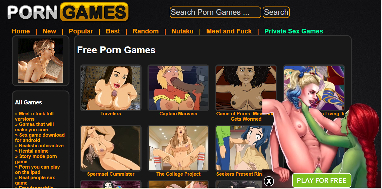 Having sex games for free