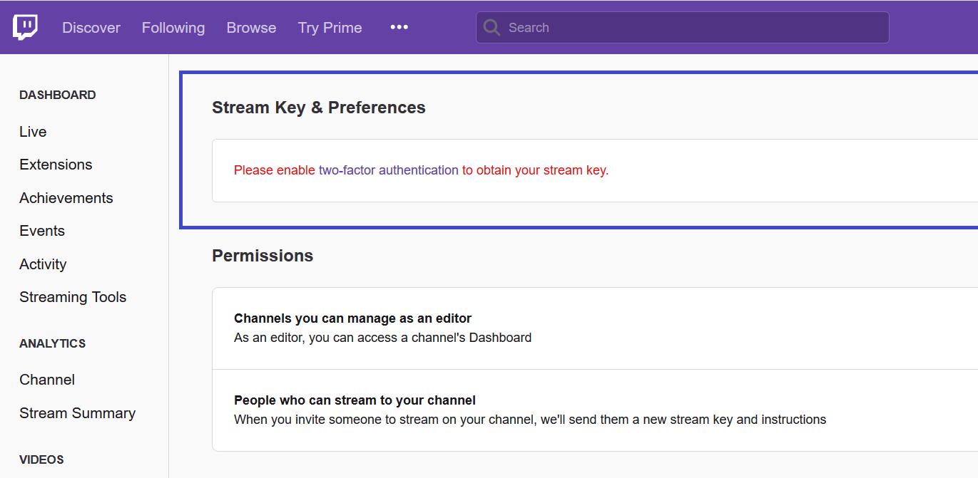 Twitch Stream Key OBS: How to stream on twitch pc 6