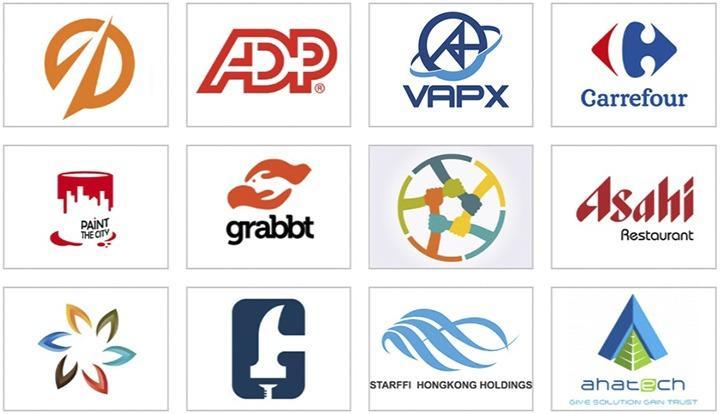 Sử dụng logo đơn giản dễ dàng ghi nhớ