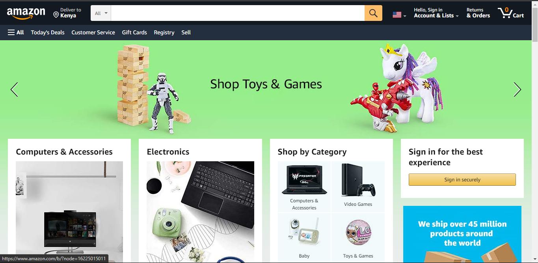 Websites Like eBay: Amazon
