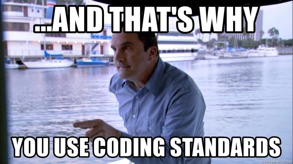 WordPress编码标准meme的图像结果