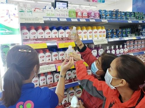 in tem nước rửa tay diệt khuẩn