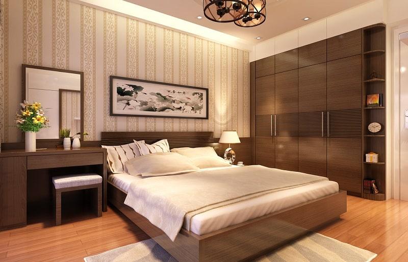 Trang trí phòng ngủ cho người mệnh thổ