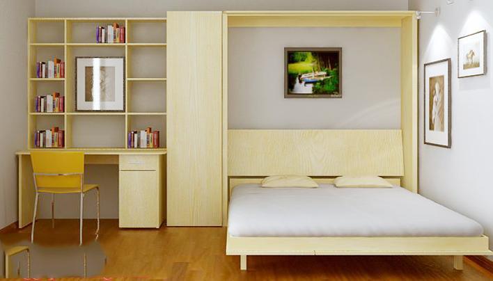 Giường thông minh giúp tiết kiệm chi phí mua sắm