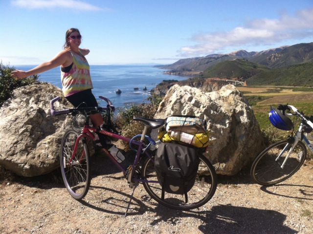 biking big sur