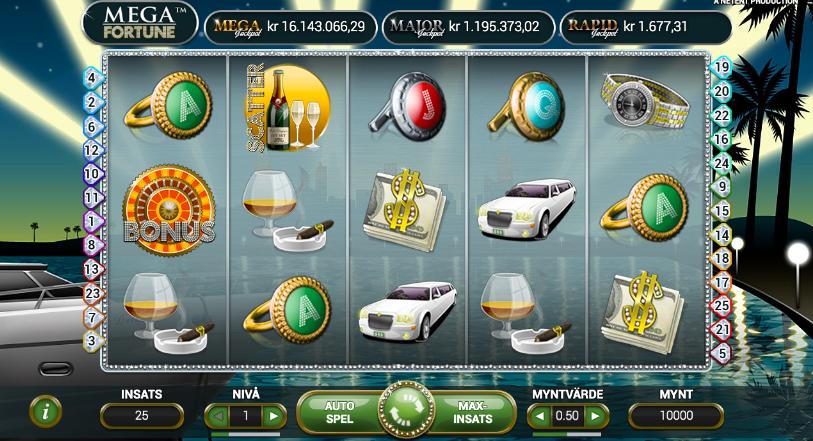 Mega Fortune Slot.