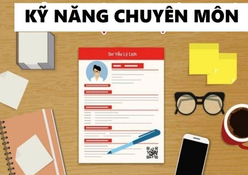 Các kỹ năng nên viết trong CV