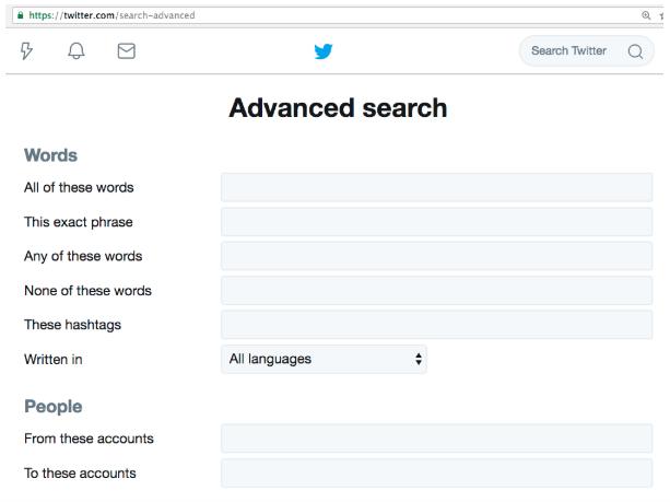 تغريدات محددة على تويتر