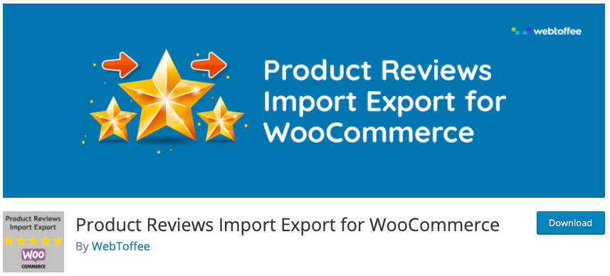 Product Review Import Export Plugin for WooCommerce