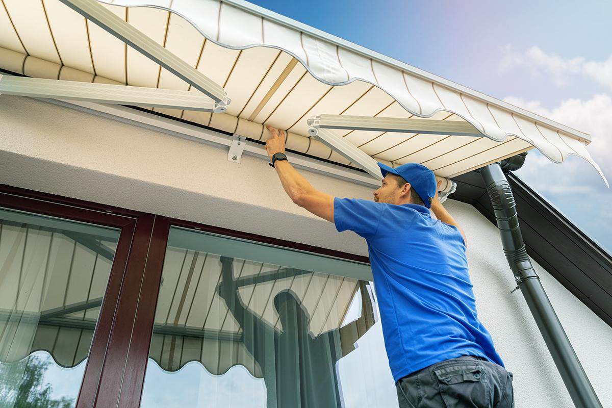 Vị trí lắp đặt mái hiên có ảnh hưởng đến thiết kế và ý nghĩa phong thủy của công trình